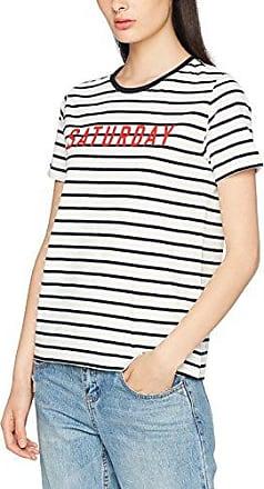 Warehouse Chrysanthemum Angel Sleeve, Camiseta para Mujer, Naranja (Orange Pattern 86), 38