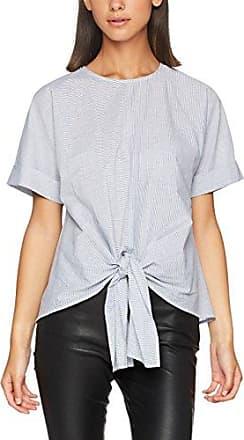 Warehouse Tiered Sleeve, Blusa para Mujer, Marfil (Cream 01), 38