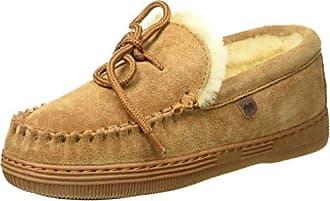 Warmbat Flurry, Zapatillas de Estar por Casa para Mujer, Beige (Mud 55), 39 EU