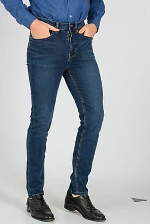 16cm Stretch Denim Jeans Fall/winter Wåven