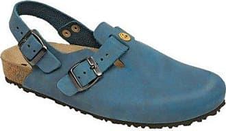 Weeger 41110, Unisex-Erwachsene Pantoletten, Blau (ozean), 44 EU