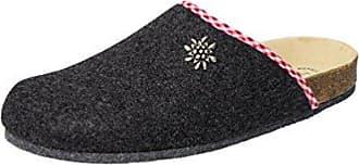 Weeger Unisex-Erwachsene 41545 Pantoffeln, Grau (Grau Grau), 36 EU