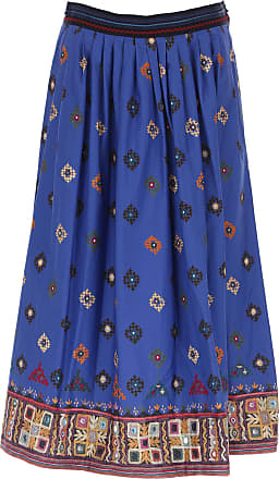 Skirt for Women On Sale, Bluette, Cotton, 2017, 30 32 Weekend by Max Mara