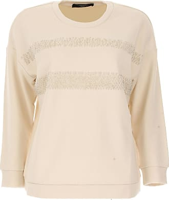 Shirt for Women On Sale, White, Cotton, 2017, USA 10 -- IT 44 Weekend by Max Mara