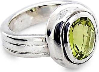 Will Bishop White Gold, Blue Topaz & Diamond Ring - UK G - US 3 3/8 - EU 45 1/4