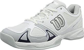 Chaussure de tennis Wilson Men Rush Pro 2.5 Clay White Pearl Blue Iron Gate-Taille 44