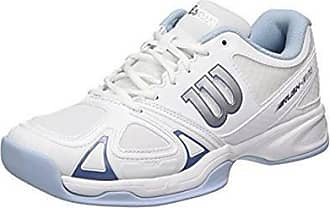 Womens Tour Vision V W Tennis Shoes, White/Pearl Blue/Astral Aura, Size 7.5 (EU 41) Wilson