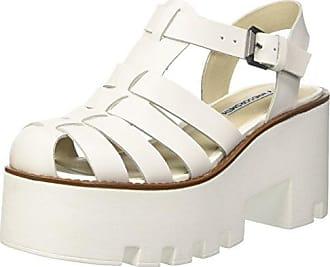 Windsor Smith WSPRACERR, Zapatillas con Plataforma Mujer, Plateado (Argento), 36