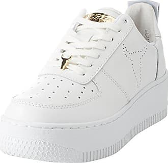 Windsor Smith Oracle, Zapatillas para Mujer, Multicolor (Leather White Honey Sole Leather White Honey Sole), 39 EU