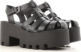 Sandals for Women On Sale, Black, Rubber, 2017, US 9 (EU 40) Windsor Smith