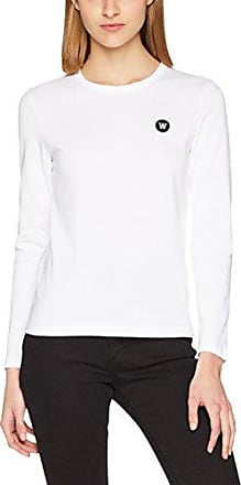 Renee Long Sleeve, T-Shirt à Manches Longues Femme, Rouge (Red Nosome), 40 (Taille Fabricant: Medium)Wood Wood