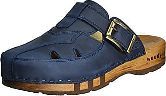 Nele, Sabots Femme - Bleu - Blau (Avion)Woody