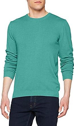 WO2002, Jersey para Hombre, Verde (Verde Salvia 041), XXL Wool & Co