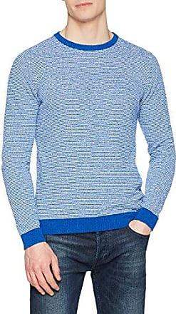 WO2090, Jersey para Hombre, Azul (Bluette 021), M Wool & Co