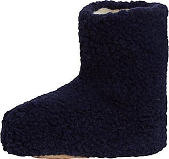Aconca Natural Wool Slipper Booties - Chaussons à Doublure Chaude - Femme - Vert - 40 EU (7 UK)Woolsies