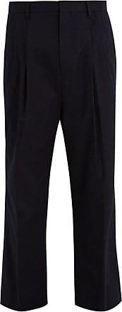 Pantalon ample en coton stretch à pincesWooyoungmi