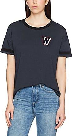 Wrangler Crop tee, Camiseta para Mujer, Rosa (Chalk Pink Wg), X-Large