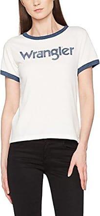 Wrangler Retro Rainbow tee, Camiseta para Mujer, Negro (Black 01), X-Small