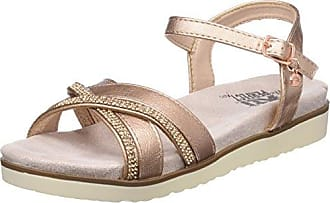 XTI 47664 Sandali con Cinturino alla Caviglia Donna Rosa Nude 38 EU