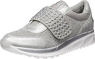 XTI Damen 48059 Slip on Sneaker, Silber (Platinium), 41 EU