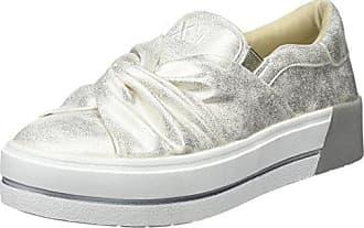 XTI 48059, Zapatillas Sin Cordones para Mujer, Dorado (Gold), 40 EU