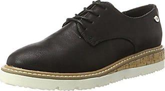 Viper, Zapatos de Cordones Derby para Mujer, Negro (Black), 40 EU Nobrand