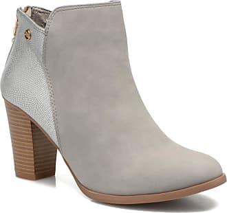 Xti - Damen - Bonnie 45031 - Stiefeletten & Boots - grau