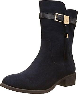 XTI Damen 063868 Desert Boots, Blau (Navy), 38 EU