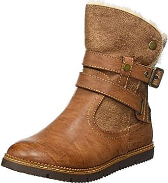 047220, Bottines Femme, Marron (Brown Brown), 39 EUXti