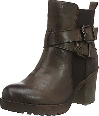 65329, Bottes Motardes Femme, Marron (Brown), 36 EUXti