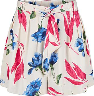 Blumen Bindeband Shorts Dames Blauw Y.A.S