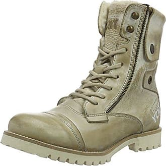 Womens Soldier Eva W Ankle Boots Yellow Cab