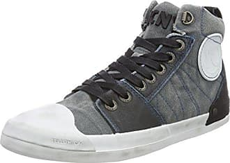 Mens Ground M Hi-Top Trainers Yellow Cab