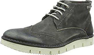 Yellow Cab Crispy M, Zapatos de Cordones Brogue para Hombre, Blau (Blue), 42 EU