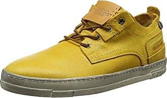 Timberland Dauset, Zapatos de Cordones Oxford para Hombre, Amarillo (Wheat Suede 231), 42 EU