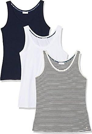 Yerse Ecobag, Camiseta para Mujer, Multicolor (Navy/Blanco/Rayas Navy), X-Large(Pack de 3)