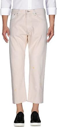 cropped straight jeans - Nude & Neutrals Ymc You Must Create