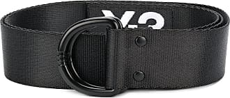 branded elastic belt - Black Yohji Yamamoto