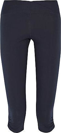 Yummie By Heather Thomson Woman Printed Stretch-knit Wide-leg Pants Blue Size XS Yummie Tummie