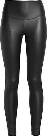 Yummie By Heather Thomson Woman Faux Leather Leggings Claret Size M Yummie Tummie