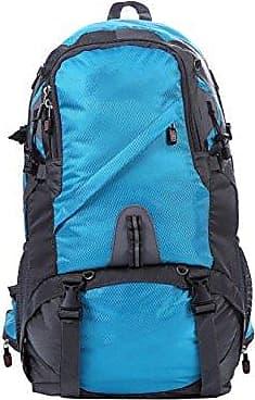 45L Ultra-robust Leicht Pauschalreisen Rucksack Wandern Tagesrucksack Leichte Outdoor-Reisen Camping Reiten Rucksack. Multicolor,Red-30*22*56 Yy.f handbags