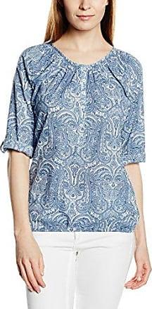 Zabaione Bluse Becca - Camisa Mujer, Mehrfarbig (Print 1 194031), Small