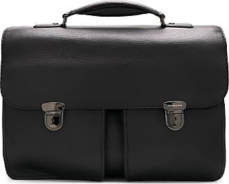 Black Classic Leather Jasper Shoulder Bag Lucléon