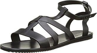 Zaxy Dual Fem Sandali con Cinturino alla Caviglia Donna Nero Black