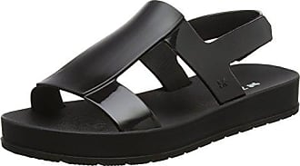 Zaxy Damen Sandalen, Schwarz - Schwarz - Größe: 38 EU