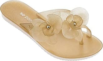Zaxy Spring Sandal Frauen Flip-Flops/Sandalen-Red-41/42