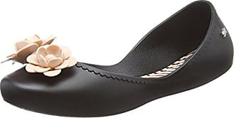 Zaxy Damen Pop Beauty Ballerinas, Black (Black Contrast Bow), 41/42 EU