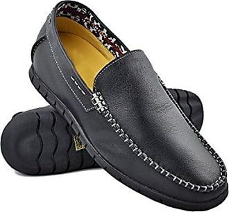 Herren Stiefel mit undsichtbarer Erhöhundg 9,5 cm Schuh aus Hochwertigem Leder Farbe Braun Größe 41 Zerimar