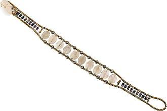 Ziio Jewellery Bracelet for Women, Yellow Ochre, Silver, 2017, One Size