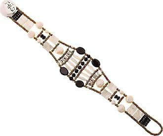 Ziio Jewellery Ring for Women, Black, Amethyst, 2017, One Size